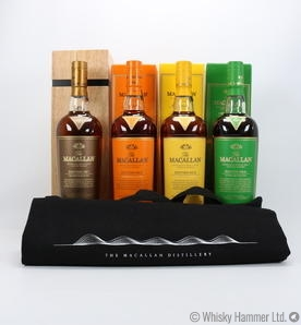 Macallan - Edition No. 1, 2, 3 & 4 (4 x 70cl) With Branded Bag