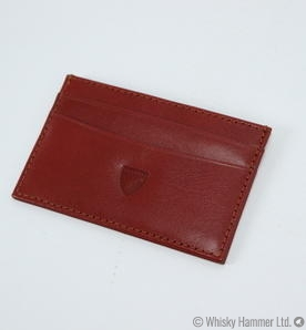 Balvenie - Leather Credit Card Wallet (Aspinal of London) Thumbnail