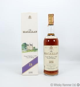 Macallan - 18 Year Old (1970) Giovinetti & Figli Edition US Import