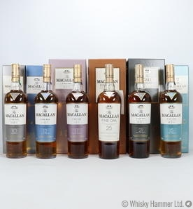 Macallan - Fine Oak Collection (6 Bottles)