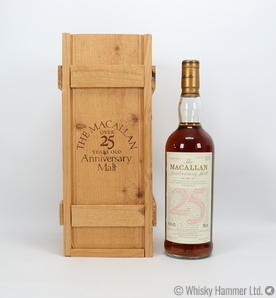 Macallan - 25 Year Old (1968) Anniversary Malt (US Import)