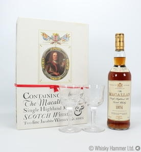 Macallan - 18 Year Old (1974) Jacobite Set