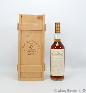 Macallan - 25 Year Old (1968) Anniversary Malt