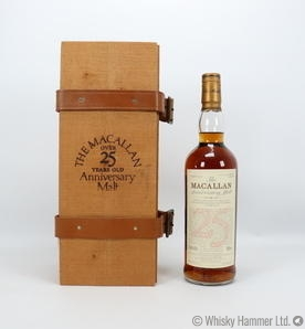 Macallan - 25 Year Old (1974) Anniversary Malt (US Import)