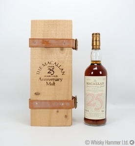 Macallan - 25 Year Old (1970) Anniversary Malt (US Import)