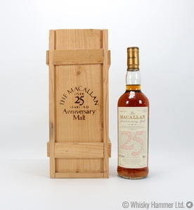 Macallan - 25 Year Old 1968 (Anniversary Malt) Thumbnail