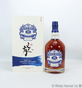 Chivas Regal - 18 Year Old (First Fill Japanese Oak Finish)
