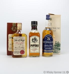 Royal Lochnagar - 12 Year Old (75cl), Isle of Skye - 18 Year Old & Chivas 100 Pipers (75cl)