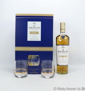 Macallan - Gold (Double Cask) Gift Set