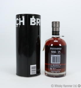 Bruichladdich - 25 Year Old (1990) Sherry Cask Edition Thumbnail