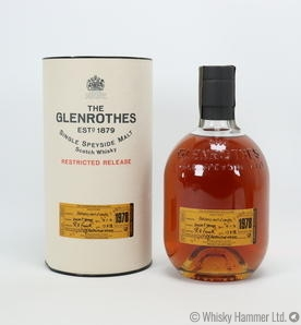Glenrothes - 1978 (Restricted Release)