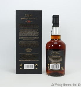 Glendronach - 26 Year Old (Trump International) Signed by Donald J. Trump Thumbnail