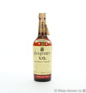 Seagram's - 6 Year Old (VO Canadian Whisky Blend) 75cl