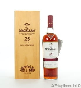Macallan - 25 Year Old (Sherry Oak) US Import 75cl Thumbnail