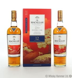 Macallan - 12 Year Old ('Year of the Dog' Double Cask) 2 x 70cl bottles Thumbnail