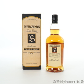 Springbank - 10 Year Old (Old Style) Thumbnail
