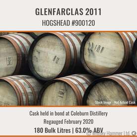 Glenfarclas - 2011 Hogshead #900120 | Held In Bond Thumbnail
