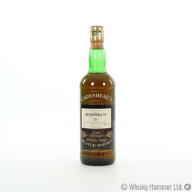 Benromach - 28 Year Old (1965) Cadenhead's Gold Seal (75cl) Thumbnail