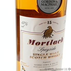Mortlach - 15 Year Old (Distillery Labels) Gordon and MacPhail Thumbnail