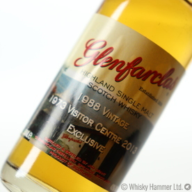 Glenfarclas - 1988 (Visitor Centre Exclusive) 5cl Thumbnail